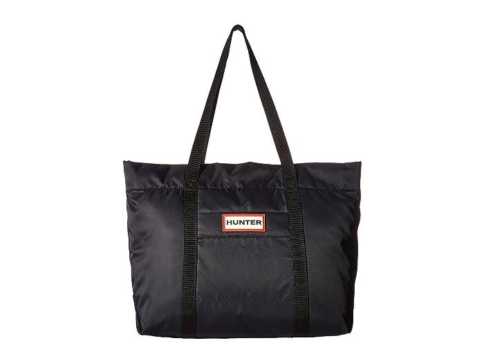 Hunter  Nylon Tote (Black) Tote Handbags