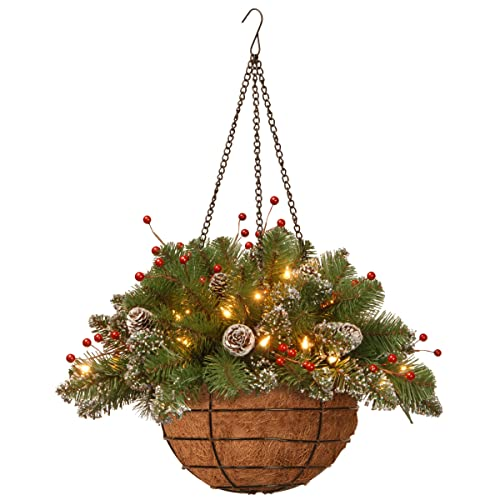 Christmas Hanging Baskets With Lights.Christmas Hanging Baskets Amazon Com