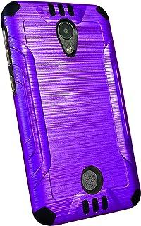 DALUX Combat Phone Case Compatible with Coolpad Legacy S - Purple/Black