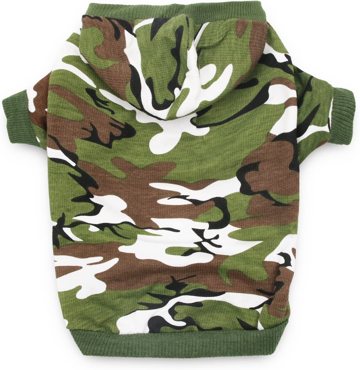 DroolingDog Dog Hoodie Sale Los Angeles Mall Camo Clothes Shirts Small Med for