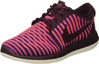 Nike Women's WMNS Roshe Two Flyknit, DEEP Burgundy/DEEP Burgundy