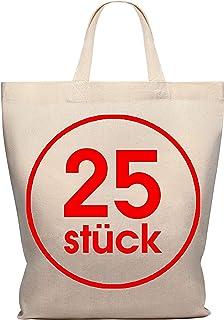 c36c85ff9d Lot de 25 sacs en coton 28 x 32 cm - Sac de rangement pour pharmacie
