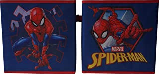Marvel Spiderman Collapsible Storage Cubes, Blue
