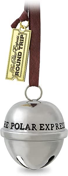 Hallmark Keepsake 2017 THE POLAR EXPRESS Santa S Sleigh Bell Dated Christmas Ornament