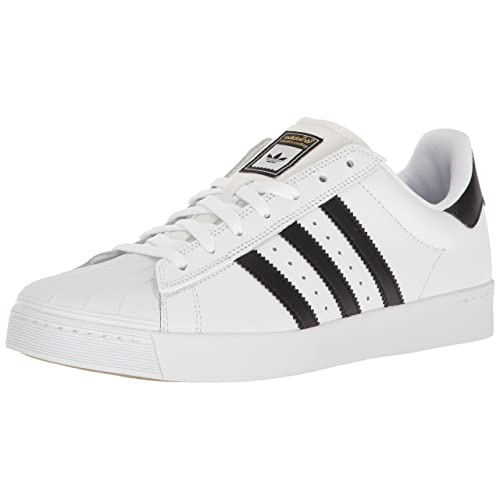 c05fdcac5565 adidas Shoes Leather Black and White  Amazon.com