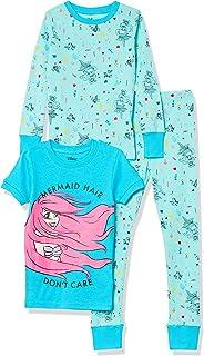 Spotted Zebra Disney Star Wars Marvel Frozen Princess Snug-Fit Cotton Pajamas Sleepwear Sets Niñas