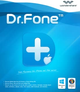 Wondershare Dr.Fone for iOS - Suite Version [Download]