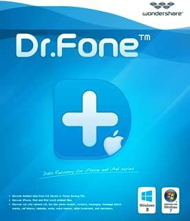 Wondershare Dr.Fone for iOS - Backup & Restore WhatsApp [Download]