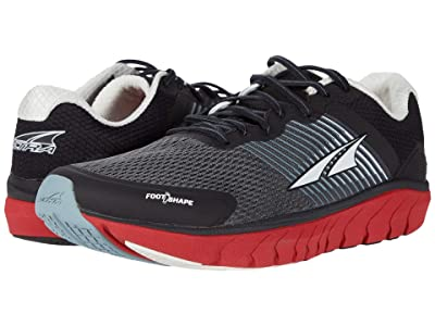 Altra Footwear Provision 4 (Black/Gray/Red) Men