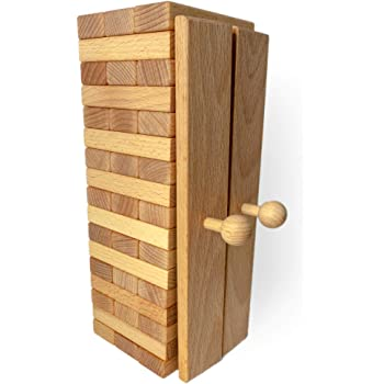 Goki Houten stapeltoren 9 delig | Holzspielzeug, Spielzeug, Holz