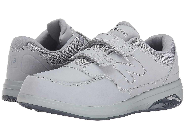 (ニューバランス) New Balance メンズウォーキングシューズ?靴 MW813 Grey 7.5 (25.5cm) EE - Wide