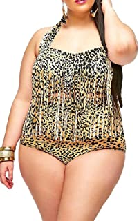 Linda Per Comfortable Women Retro Fringe Top High Waist Bikini Swimwear Newest & stylish designs with excellent features