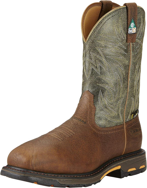 ARIAT Men's Workhog CSA Metguard Composite Toe Work Boot