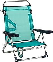 Alco – Strandstoel Bed Aluminium Fibreline Turquoise (30 1-607AZ)