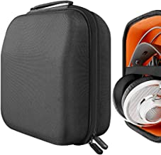 Geekria UltraShell Headphone Case for AKG Q701, K812, K872, K845BT, K712 Pro, K701, K702, N90Q, K340, K240 MKII, K242, K271, K272, K141 Full Size Hard Shell Large Carrying Case, Headset Travel Bag