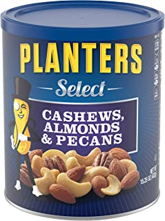 Planters Mixed Nuts, Select Mixed Nuts, 15.25 Ounce