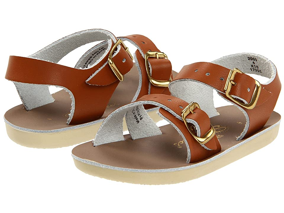 Salt Water Sandal by Hoy Shoes Sun-San Sea Wees (Infant/Toddler) (Tan) Kids Shoes