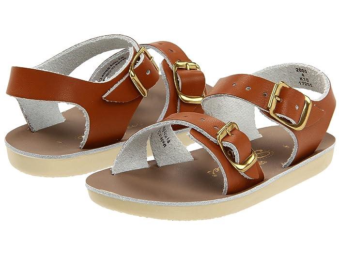 Salt Water Sandal by Hoy Shoes  Sun-San - Sea Wees (Infant/Toddler) (Tan) Kids Shoes