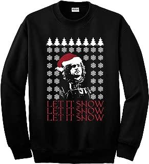 Revel Shore Jon Snow Let It Snow Got Ugly Christmas Sweater