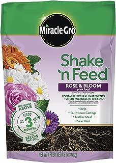 Miracle-Gro Shake 'N Feed Rose & Bloom Plant Food, 8 lbs