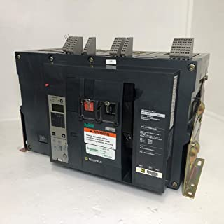 Square D NW16H 1600A MasterPact EO Circuit Breaker 4P NW 16 H 1600 Amp Trip LS