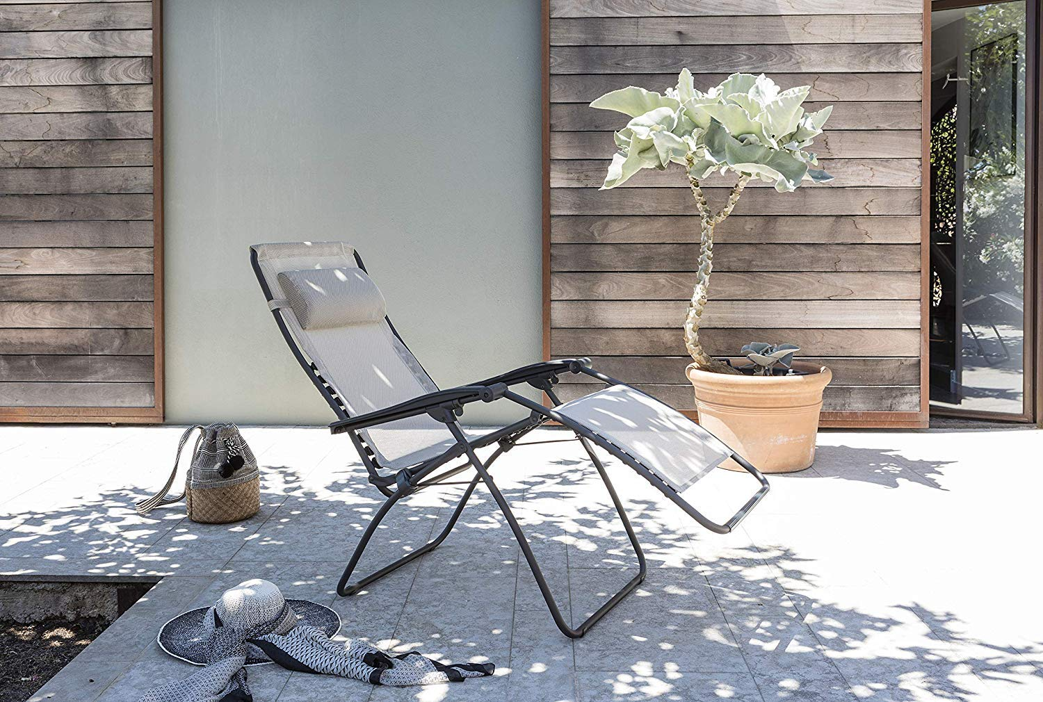Lafuma Recliner, Foldable and adjustable, Lace System, RSXA, Batyline, Colour: Ocean, LFM2034 8547