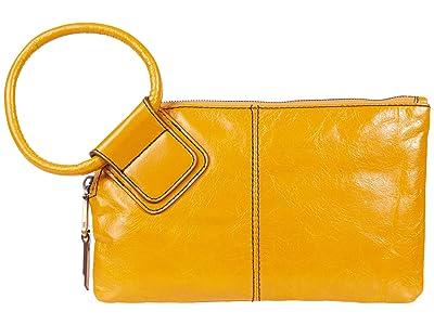 Hobo Sable (Mustard Vintage Hide) Clutch Handbags