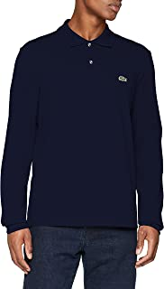 Lacoste Mens Classic Long Sleeve Pique Polo Shirt