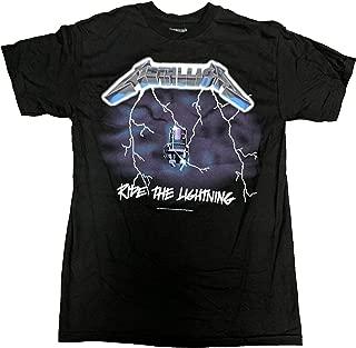 Metallica Men's Ride The Lightning T-Shirt
