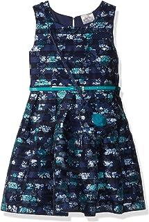 فستان جميل للفتيات بدون أكمام من الدانتيل