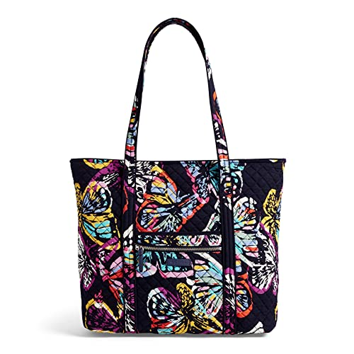 Personalised Ladies/' canvas butterfly Beach Bag//Large shopper,pink or navy