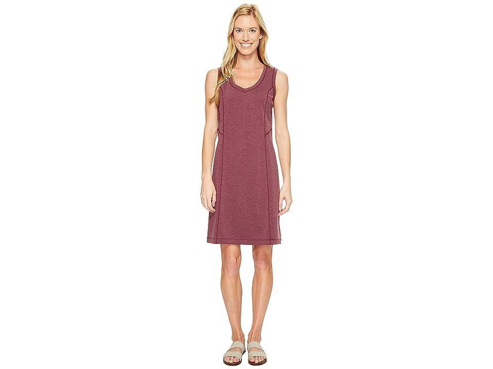 Royal Robbins Metro Melange Shift Dress (Plum Wine) Women