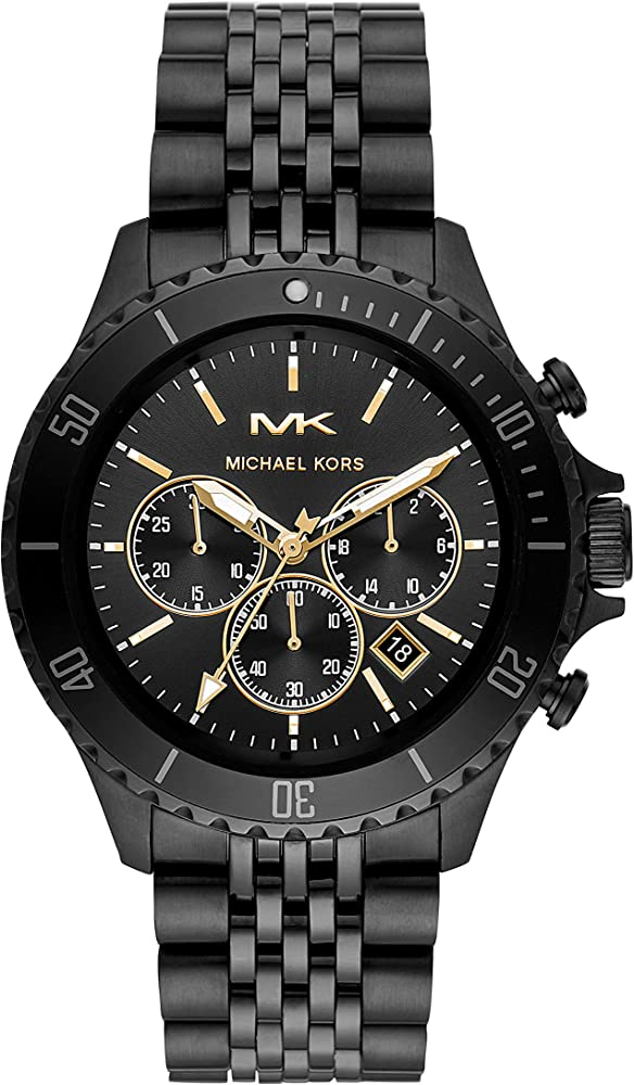 Michael kors,orologio, cronografo per uomo,in acciaio inossidabile Mk8750