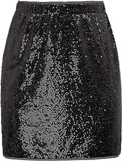 00b232c4033d86 Amazon.fr : Argenté - Jupes / Femme : Vêtements
