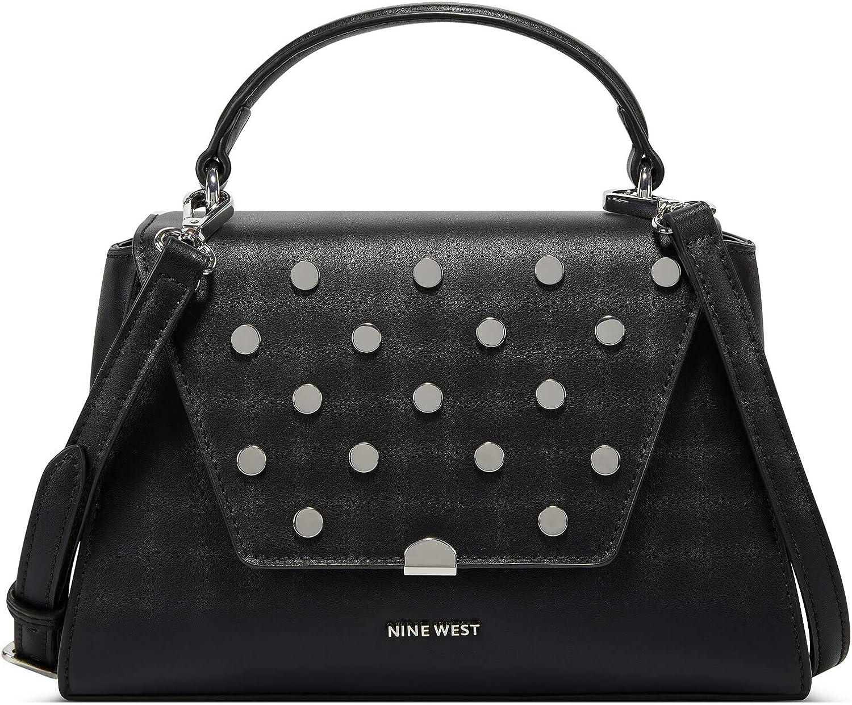 Nine West Women's Ridgewood Top Handle Flap Top-Handle Bag