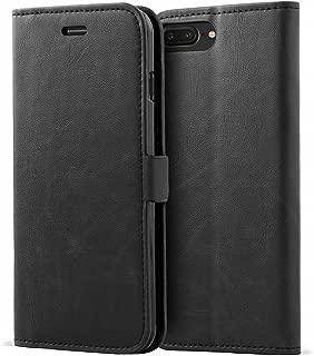 Mulbess Portafoglio Custodia per iPhone 8 Cover a Libro iPhone 7