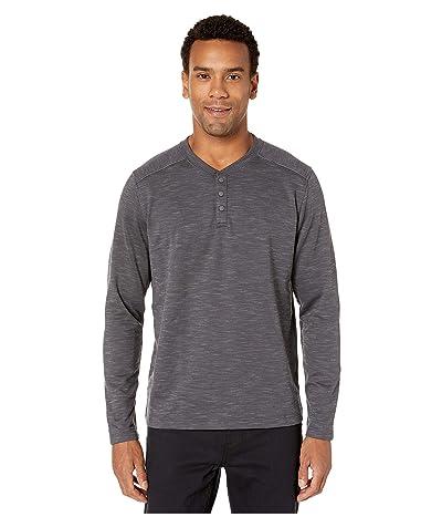 Prana Bismark Long Sleeve Shirt (Coal Heather) Men