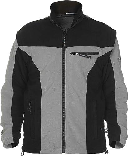 Hydrowear 04026015F Kingston en polaire pour homme, 100% polyester, petite taille, gris noir