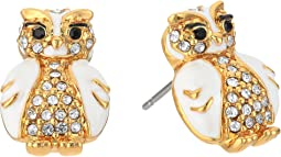 Kate Spade New York - Star Bright Owl Stud Earrings