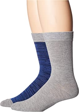 2-Pack Dress Crew Socks