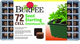 Burpee 72 Cell Seed Starting Kit, One Size (Тwо Расk)