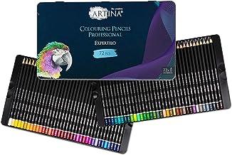 Artina Expertilo XL zestaw 72 kredek profesjonalnych, z certyfikatem FSC®, odporne na pękanie, wysoka pigmentacja, wiele k...