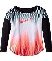 Nike Kids Gradient Morph Dri-FIT Long Sleeve Tee (Toddler)