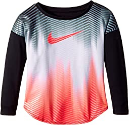 Nike Kids - Gradient Morph Dri-FIT Long Sleeve Tee (Toddler)