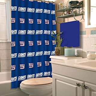 Best giants shower curtain Reviews