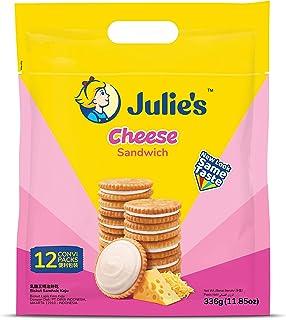Julie's Cheese Sandwich Biscuits, 336g