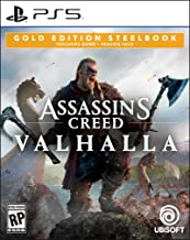 Assassin's Creed Valhalla Gold Steelbook Edition - PlayStation 5