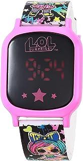 LOL Girls' Quartz Watch with Silicone Strap, Multicolor, 13 (Model: LOL4338AZ)