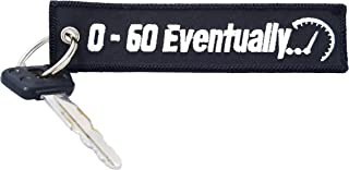 CG Keytags - Unique Keychains for Motorcycles, Scooters, Cars, Gifts, and More (0-60 Eventually)