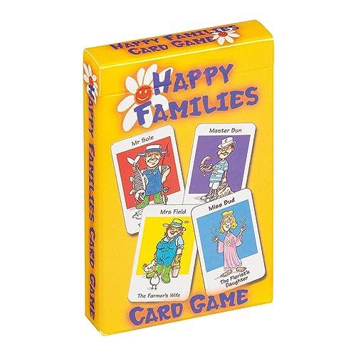 Cartamundi 107677996 Happy Families-Children's Card Games-Mixed Display, Multi